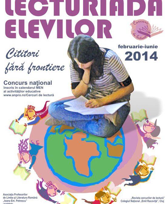 Lecturiada elevilor 2014
